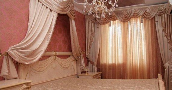 фото интерьеры штор