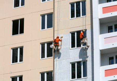 Фасадные работы. Ремонт покраска фасада